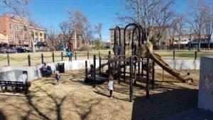 Playground in Acacia Park.